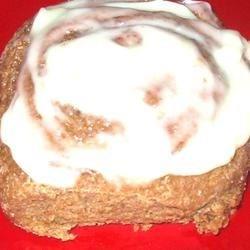 LadySparkle's Gingerbread Cinnamon Rolls