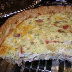 New England Clam Quiche