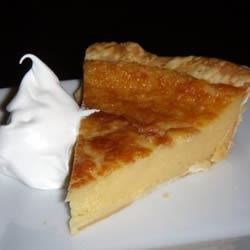 Holiday Eggnog Pie