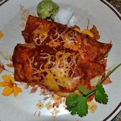 Enchiladas - New Mexico Style