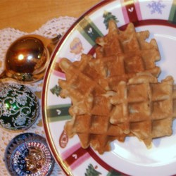 Waffle Cookies I Recipe - A fun cookie to make, and its got a pretty pattern on it.