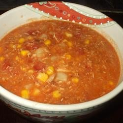 Leftover Turkey Brunswick Stew Recipe - This tangy barbecue flavored soup makes use of your leftover Thanksgiving or Christmas turkey.