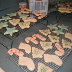 Cream Cheese Sugar Cookies