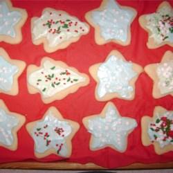 Shaped Vanilla Cookies