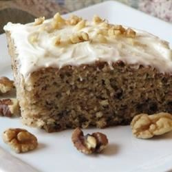 A-Number-1 Banana Cake Recipe - This is a very versatile and fast cake recipe. Not only is it moist and delicious, the same batter can be used to make banana bread and muffins. Delicious frosted with chocolate or cream cheese frosting.