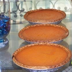Sweet Potato Pie IX Recipe - A tasty pie made from sweet potatoes, and always an interesting addition at Thanksgiving or at anytime of year!!