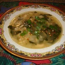 Spinach and Leek White Bean Soup Photos - Allrecipes.com