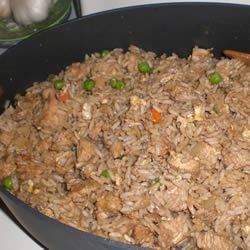 Leftover Turley Fried Rice