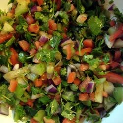 Pittsburgh Football Party Cilantro Salsa