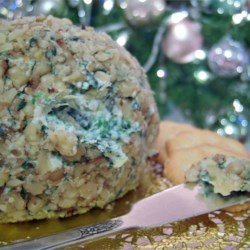Spinach Artichoke Feta Ball Recipe - If you like hot spinach artichoke dip, this is for you.  It's yummy and quick. Serve with crackers or garlic toast.