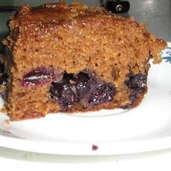 Blueberry Gingerbread Recipe - A new twist on the classic gingerbread - blueberries!