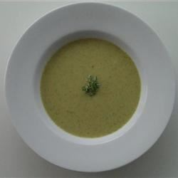 Gramma's Cream of Broccoli Recipe - A tried-and-true family recipe, this quick and easy cream of broccoli soup uses evaporated milk.