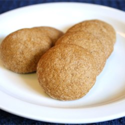Less Fat Gingersnaps Recipe - Delicious cookies that can be made like a crisp gingersnap cookie, or a soft, chewy cookie.
