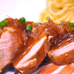 Slow Cooker Teriyaki Pork Tenderloin