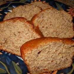 Lightened Peanut Butter Banana Bread