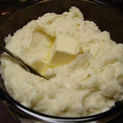 Make-Ahead Mashed Potatoes Recipe - You can make these ahead several days and store in the fridge. If baking cold, let stand 30 minutes first. Originally submitted to ThanksgivingRecipe.com.
