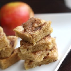 Apple Squares Recipe and Video - Apples, nuts and cinnamon make these bars delicious. They hardly last a day at my house!