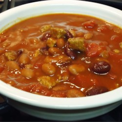 John's Chili Recipe - This chili is packed with meat, beans, bell peppers, chili peppers, and delicious Texas flavor!