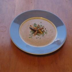 Mystic Mushroom and Quinoa Chowder