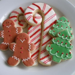 Soft Christmas Cookies Recipe and Video - Soft cut out sugar cookie that I have used for years.