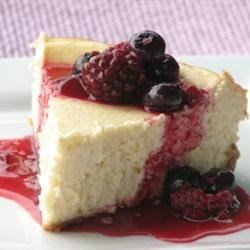 Donna's Famous Cheesecake Recipe - Vanilla cheesecake with a graham cracker crust.  Best served after overnight refrigeration.
