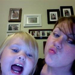 Me and Anna being silly