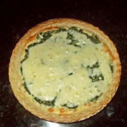 Spinach Cheese Pie Recipe - My fiance' absolutely lives for this easy to prepare dish.