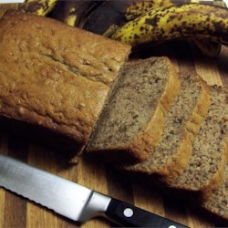 Banana Nut Bread I Recipe - Buttermilk and vanilla make for two moist, well-flavored loaves.