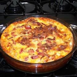 Bacon and Swiss Quiche Recipe - We love quiche in our house; however ...