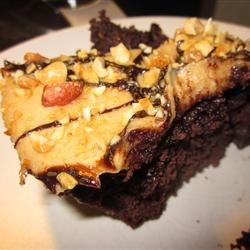 Mile-High Peanut Butter-Brownie Pie Photos - Allrecipes.com