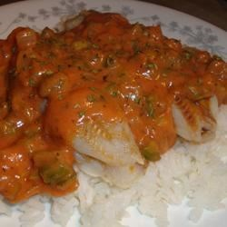 Baked Fish Creole Recipe - A meal in itself when served with a green salad.