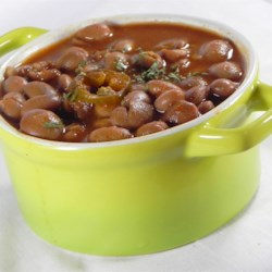 Hot as Hell Hickory Beans Recipe - This basic bean recipe is easy to make and tastes great. It's good for burritos or as a side with rice and steak.