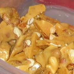 Microwave Peanut Brittle Recipe - This recipe was given to me by a friend quite a few years ago.