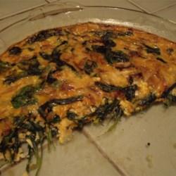 My half-eaten Spinach/mushroom/carrot Quiche