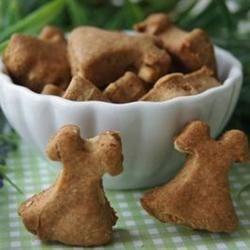Simple Four Ingredient Peanutty Dog Bites