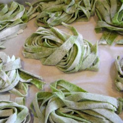Unique Spinach Noodles