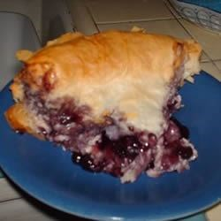 Fruit and Cream Phyllo Pie