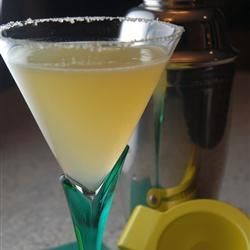 Meyer Lemon Martini
