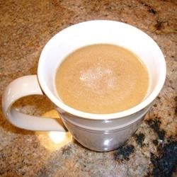 Make-Ahead Hot Buttered Rum Mix Recipe - For impromptu potions of hot buttered rum. this make-ahead mixture with brown sugar, butter, orange peel and apple pie spice is in the fridge and ready when you are. You can substitute 1/2 cup hot strong coffee or tea for the rum and boiling water.