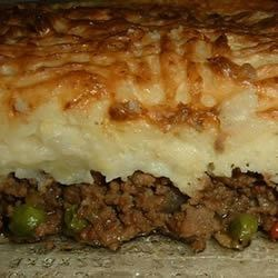 Laurie's Shepherd's Pie Recipe - This savory beef pie is so easy to make and is one of my husband's favorites. The leftovers are perfect for lunch the next day. For added flavor, you could top the potatoes with a cup of shredded Cheddar cheese, if desired.