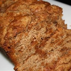 Banana Butterscotch Bread Recipe - Traditional banana bread becomes untraditional with the addition of sweet butterscotch morsels.