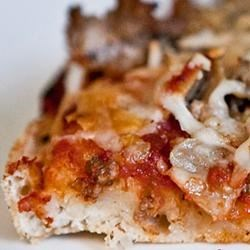 Jay's Signature Pizza Crust Recipe - This simple recipe for pizza crust delivers crust that is chewy and soft, with a crispy exterior.