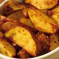 Roasted Potatoe Wedges