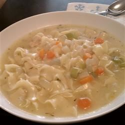 Steve's Chicken Noodle Soup