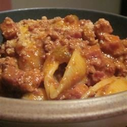 Ragu Bolognese Recipe - This is the real deal, an authentic recipe for a meat sauce. Beef, veal, pork and bacon are cooked down in this tomato-based sauce.