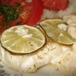 Baked Haddock, Tartar Sauce and Tomato Salad