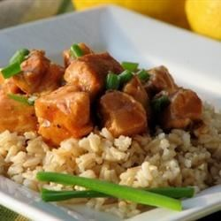 Quick and Easy Chicken Recipe - Dinner is just a few minutes away when you simmer chicken in this sassy mixture of soy sauce with catsup, lemon juice and a little sugar.