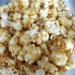 Caramel Corn I Recipe - This caramel corn is great for Monday night football. The assortment of nuts makes it deluxe caramel corn. It takes a bit of time, but is more than worth it.