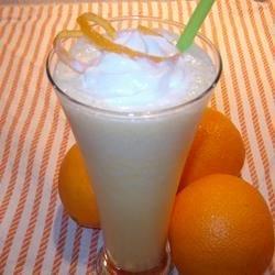 Orange Smoothie - That tastes like an Orange Julius.