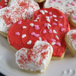 Michelle's Soft Sugar Cookies Recipe - These sugar cookies have won raves from all who have tried them. They are soft and have a light and delicate flavor.  They're great for Christmastime cut outs.